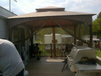 2007 Breckenridge 38ft Bayridge Skyview Park Model Trailer