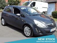 2013 VAUXHALL CORSA 1.2 Energy [AC] Bluetooth 1 Owner Aux Mp3 Input