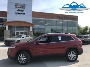 2017 Jeep Cherokee Limited  ACCIDENT FREE, BLUETOOTH/REVERSE CAM