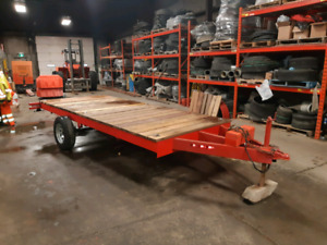 Brand new double quad trailer or sled trailer