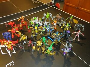 30 Figurines - Mainly Bionicles REDUCED