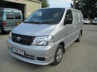 2008 Toyota Hi-Ace 2.5D-4D Tailgate 95 280 euro 4 1 owner diesel sld pas