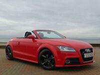 2012 12 Audi TT 2.0 TDI Roadster Convertible S Tronic Auto S Line Diesel