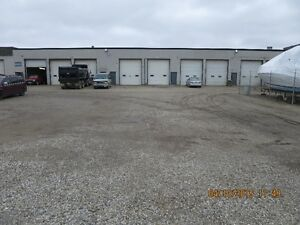 INDUSTRIAL space with great SHOP , 14' DOORS, SECURE YARD