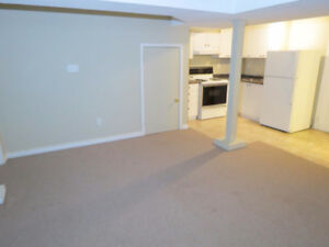 1 bedroom Basement Apartment for rent Nov 1.