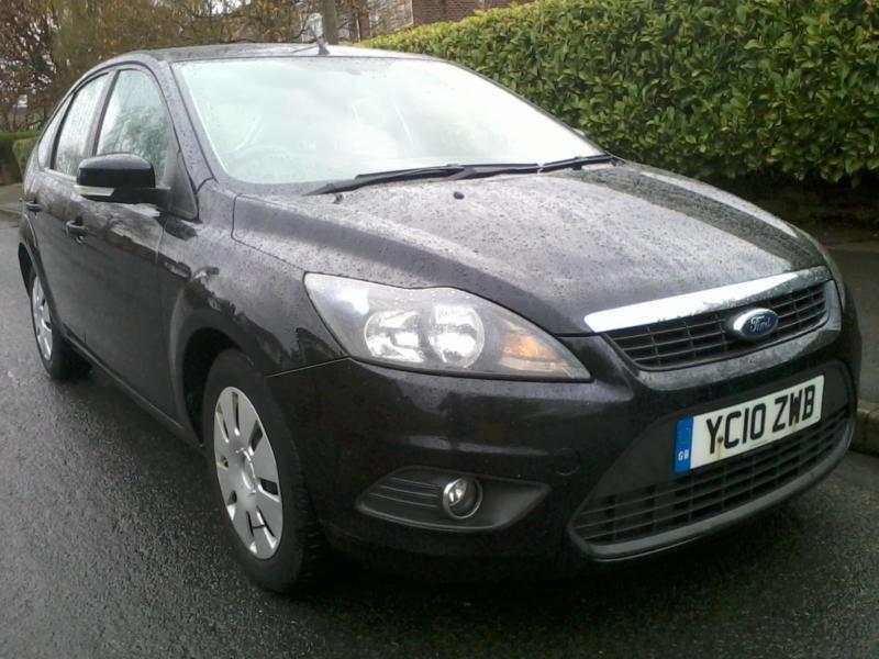 Ford Focus 1.6TDCi Econetic 2010 5 Door Black £20 PA Tax