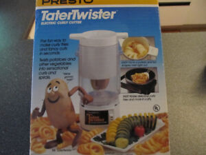 Presto Tater Twister electric curly cutter- brand new.