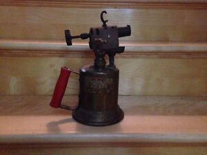 Antique flame thrower
