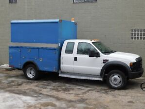 2008 FORD F550 SERVICE-BOX 4DR DIESEL