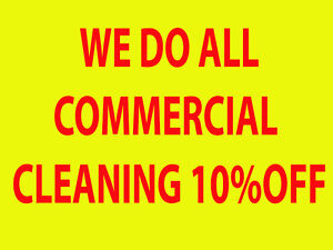SS CLEANING CO..WE DO ALL COMMERCIAL. We insured the company Kitchener / Waterloo Kitchener Area image 2