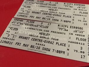 VIP Hedley Tickets