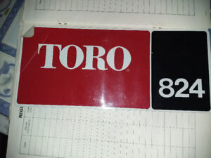Toro Snowblower for Parts