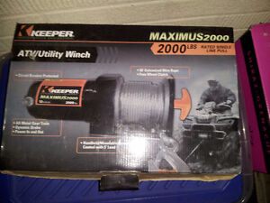 keeper maximus 2000 atv/utility winch