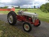 FORD 8N - 1949 - ANTIQUE TRACTOR