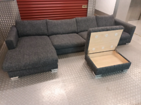 (SOLD!) SOFOLOGY DESIGNER MADE CORNER SOFA LOCAL DELIVERY AVAILABLE