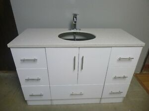 Brand New Vanity Set with Quartz counter top