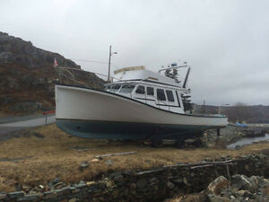 1987 cape island 42 foot boat