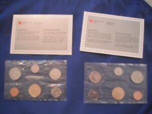 Coins - Two Royal Canadian Uncirculated Mint Sets 1991, 1994
