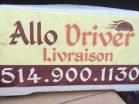Delivery driver/ livreur avec voiture pour restaurants