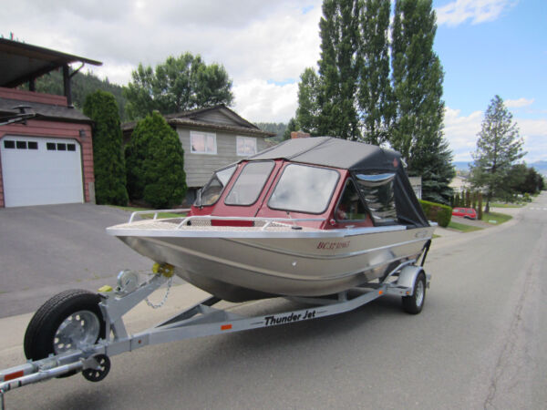 Used 2012 Thunder Jet Boats 182 Eco