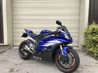 (07) 2007 Yamaha YZF R6 R Motorbike FSH Low 11900 Miles Mileage 599cc