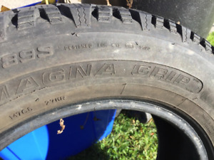 """Pair 195 65 15 Goodyear Winter Tires"