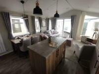BRAND NEW 2021 6 BERTH STATIC CARAVAN FOR SALE AT THORNESS BAY NEAR THE BEACH