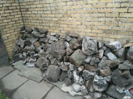Free stones for building or landscaping