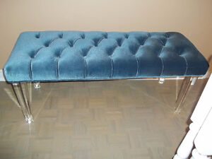 REDUCED IS THIS BEAUTIFUL BENCH OTTOMAN (NO PAYPAL)
