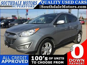 2011 HYUNDAI TUCSON GLS * POWER GROUP * LEATHER/CLOTH * BLUETOOT