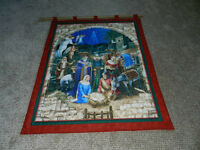 New Nativity Wall Hanging