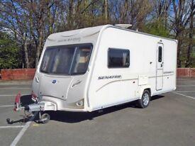 Bailey Senator Vermont - Used 2 Berth - Tourer Caravan 2009