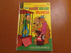 Hanna-Barbera THE HAIR BEAR BUNCH comic # 3 Aug. 1972