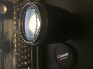 Canon EF 35-135 USM lens in excellent condition.