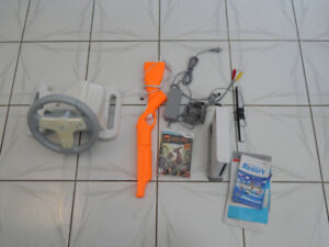 Wii & Accessories- w/Every NTSC Wii Game