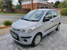 2010 Hyundai i10 (£30 per year tax, 1 previous owner)