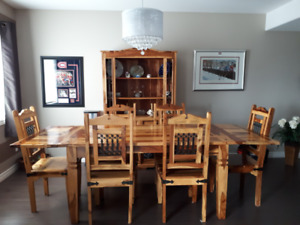 Solid Rosewood Handcrafted Dining Room Set