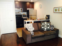 TOUT INCLUS/ALL INC.Condo studio modern Plateau Mont-Royal 2 1/2
