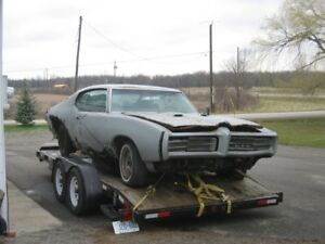 1969 gto and 69 Temest soutern body