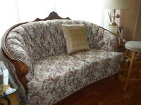 3 Pc Antique Couch Set