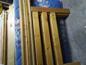 Bunk beds with mattress for $100.00