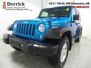 2015 Jeep Wrangler Unlimited   Used 4WD 4Dr Sport Bluetooth hard