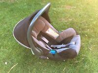 BRITAX CAR SEAT, ISOFIX , FOOTMUFF, RAINCOVER