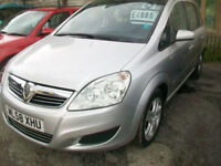 Vauxhall/Opel Zafira 1.9CDTi ( 120ps ) auto 2008.5MY Exclusiv 7 SEATER DIESEL