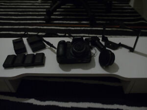 Panasonic GH4 Camera w/ 14mm 2.5 lens, Takstar mic and Cage