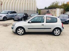 Renault Clio 1.2 16v ( a/c ) Dynamique 2003 not polo corsa astra 206 fiesta 106
