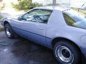 1983 Firebird SE Blue V6 Auto or trade for roofing work