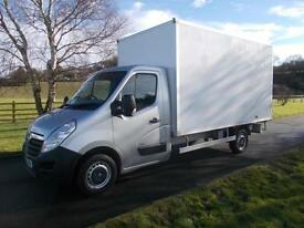 VAUXHALL MOVANO CDTI 150PS 13FT 4IN BOX VAN, 62 REG, 94,500 MILES