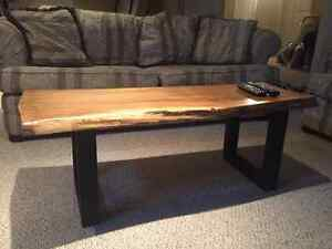 Beautiful Live Edge Coffee Table