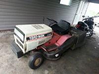 Tracteur a gazon 12hp 40po